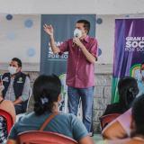 Alcaldía de Soledad entregó escrituras a familias en el barrio Ferrocarril en Soledad