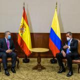 Así fue encuentro de Duque con el Rey Felipe VI de España