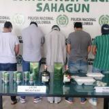 Capturan a cinco personas sindicadas de estafar a comerciantes en Sahagún