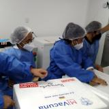 Se reanuda aplicación de primeras dosis en Barranquilla