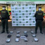 Decomisan ocho kilos de marihuana en las vías de Córdoba