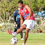 Larry Vásquez palpitó el partido ante Independiente Medellín