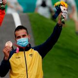 Carlos Alberto Ramírez ganó medalla de bronce en Tokio 2020