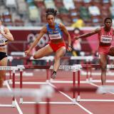 La colombiana Melissa González a semifinales de 400 metros valla con récord