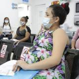 296 mujeres en estado de gestación se vacunan contra la covid-19 en Soledad