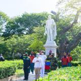 Duque rindió homenaje al Libertador en Quinta de San Pedro Alejandrino