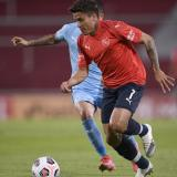 Andrés Roa se reporta con gol en Argentina con Independiente