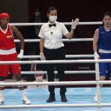 Ingrit Valencia ganó diploma olímpico en Tokio 2020