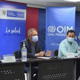 Colombia presentó resultados de encuesta de venezolanas en el país