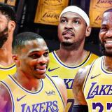 Carmelo Anthony llega a los Lakers de Lebron, Davis y Westbrook