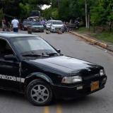 Bloquean vía El Banco-Chimichagua  para exigir reductores de velocidad