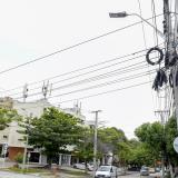 Telarañas de cables se regularán en dos sectores