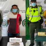 Los capturaron con marihuana en Santo Tomás y Palmar de Varela