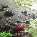 Hallan bebé muerto debajo de un puente en el barrio Santo Domingo