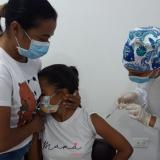 Sincé activó este viernes la vacunación en menores de edad