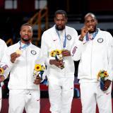 Estados Unidos ganó la medalla de oro en baloncesto de los Juegos Olímpicos de Tokio