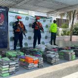 Golpe al narcotráfico en La Guajira: incautan media tonelada de cocaína