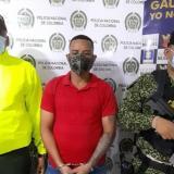 Autoridades capturan a 'El Cangrejo' en Sincelejo