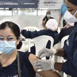 Más de 80 mil primeras dosis se aplicaron en una semana en Barranquilla