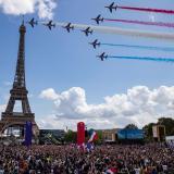 París le dio la bienvenida a los Juegos Olímpicos de 2024