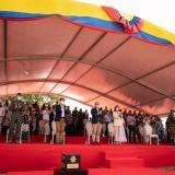 """""""La paz no está en los premios ni en los aplausos"""": presidente Duque"""