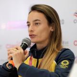 Sandra Arenas comentó lo difícil que fue llegar a los Juegos Olímpicos de Tokio