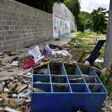 Vecinos del barrio Los Andres preocupados por botadero de basura