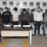 En redada capturan a 13 presuntos 'Papalópez'