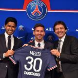 """Messi: """"Nada más llegar la felicidad de estar acá es enorme"""""""