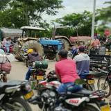 Los arroceros del sur de Sucre protestaron con bloqueo de vía