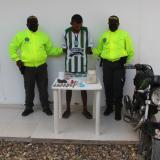 Capturan a alias Lucho, presunto jíbaro de Magangué