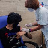 Inicia vacunación para mayores de 20 años en Barranquilla sin agendamiento