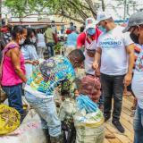 Se vendieron más de $35 millones durante tercer Mercado Campesino en Lorica