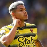 El 'Cucho' Hernández se estrena en el Watford con un golazo