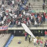 Enfrentamiento entre hinchas después del partido Medellín vs. América
