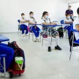 El retorno a clases presenciales en Sincelejo supera el 70%