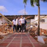 Avanzan obras de puestos de salud en Ponedera y Sabanalarga