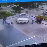 Asaltan a turistas en la entrada de un edificio en el norte