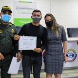 31 barristas fueron certificados como promotores del orden público