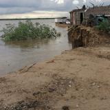 Se cae el terraplén y suspenden operación del ferry en Salamina