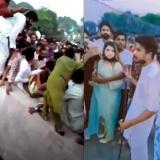 Indignación en Pakistán: turba de hombres atacó a mujer que grababa un TikTok