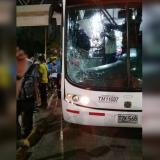Hombre fue arrollado por un bus de Transmetro