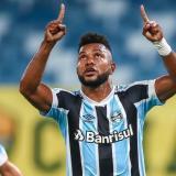 Borja anotó su segundo gol con Gremio de Brasil