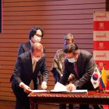 Corea dona a Colombia USD 4.5 millones para atención de secuelas de covid