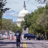 Policía investiga supuestos explosivos cerca al Capitolio de EE. UU.