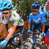 Miguel Ángel López asegura que no ha visto la caída de su compañero Alejandro Valverde