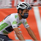 Egan Bernal dice sentirse fuerte en La Vuelta a España
