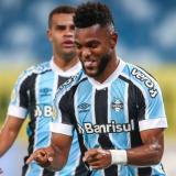 Miguel Ángel Borja volvió a marcar con Gremio en Brasil
