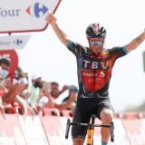 Damiano Caruso ganó la novena etapa de La Vuelta a España