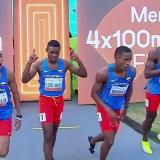 Néider Abello, quinto en relevo de 4x100 del Mundial Juvenil